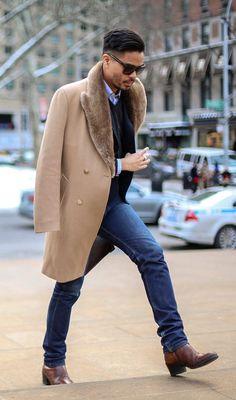 "hespiration: ""Fur coat from HEspiration.com — MORE » FASHION / GUYS / GIRLS / CARS — WEBSITE / PINTEREST / TWITTER / FACEBOOK / INSTAGRAM / TUMBLR """