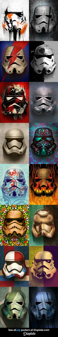 Never before seen Star Wars Stormtroopers... #starwars #empire #disney #rogueone #stormtrooper