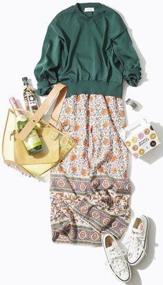 Frock Fashion, Hijab Fashion, Girl Fashion, Fashion Outfits, Womens Fashion, Sporty Outfits, Classy Outfits, What To Wear Tomorrow, Japan Outfit