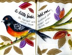 another happy page from my art journal...twig2nest Studio - Valerie Weller - Picasa Web Albums
