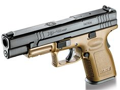 Springfield's XD Compact ACP is neither fish nor fowl! Springfield Pistols, Springfield Armory, Xds 9mm, 45 Acp, Custom Guns, Personal Defense, Military Guns, Guns And Ammo, Concealed Carry