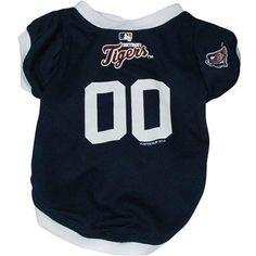 online store f660b 27995 Detroit Tigers Baseball Dog Jersey