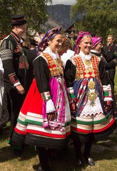 Norwegian bunads  #world #cultures