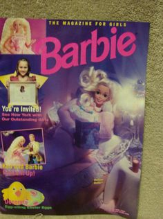 March/April 1994 cover with Bedtime Barbie