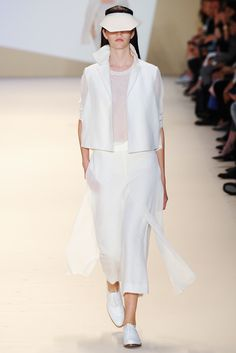 Akris Spring 2015 Ready-to-Wear  Inspiration:  landscapes, famous architectural landmarks, and images by well-known artists