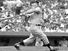 Mickey Charles Mantle (October 20, 1931 – August 13, 1995) was an American baseball center fielder who played 18 seasons in Major League Baseball (MLB) for the New York Yankees from 1951 to 1968. Mantle is regarded by many to be the greatest switch hitter of all time, and one of the greatest players in baseball history. Mantle was inducted into the National Baseball Hall of Fame in 1974 and was elected to the Major League Baseball All-Century Team in 1999.