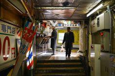 """浅草駅""""東洋で最初の地下鉄駅""""浅草。レトロな意匠が随所に見られる昭和の雰囲気を色濃く残す浅草地下街"""