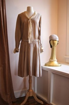 1920s Dress // Vintage 20s Silk Dress and by xtabayvintage on Etsy, $398.00