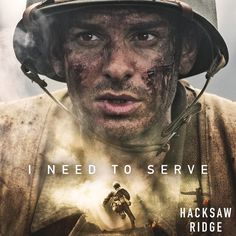 It takes courage to make it to the front lines. #HacksawRidge.