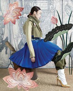 만추 modern hanbok