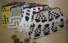 Purses by Risako. Louis Vuitton Speedy Bag, Purses, Knitting, Crochet, Bags, Fashion, Handbags, Handbags, Moda