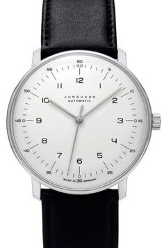 Cher Papa, cette montre Max Bill automatique chiffres 38 mm est faite pour toi ... #FDTIMEFY