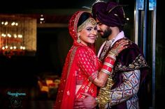 Looking for Bright and happy couple shot? Browse of latest bridal photos, lehenga & jewelry designs, decor ideas, etc. Lehenga Jewellery, Couple Shots, Wedding Poses, Bridal, Couples, Brides, Wedding Posing, Bride, Wedding Dress