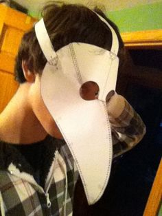Items similar to Plague Doctor Mask Pattern/Template/Instructions on Etsy Diy Mask, Diy Face Mask, Face Masks, Plague Dr Mask, Plauge Doctor, Doctor Costume, Mask Template, Leather Mask, Family Halloween Costumes