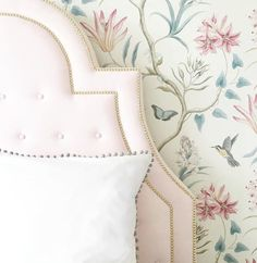 44 Super Ideas For Wallpaper Bedroom Kids Girls Pillows