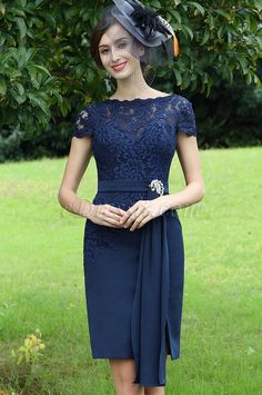 Looking for low price but high quality eDressit Elegant Blue Lace Mother of the Bride Dress (26170105)? eDressit.com can custom-made for you!