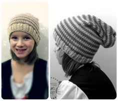 ALL SIZES/COLORS Stripe Slouch by EternalLightShop on Etsy, $22.00