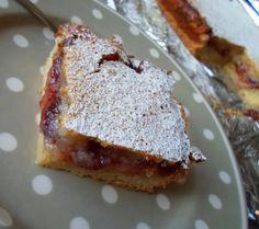 The English Kitchen: Lemon and Jam Slices