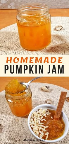Develop A The Moment Upon A Dream Fairy Tale Birthday Bash This Homemade Pumpkin Jam Recipe Made With A Spicy Flavor Is Perfect For Tarts, Pies Or Slathered On Toast In The Morning Breakfast. This Jam Is Delicious Pumpkin Jelly, Pumpkin Jam, Canned Pumpkin, Pumpkin Spice, Pumpkin Pie Jam Recipe, Apple Jelly, Spiced Pumpkin, Fall Jams, Homemade Jelly