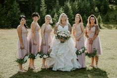 Find and save wedding inspiration, photo shoots, real weddings and more throughout BC, Calgary, Edmonton and the Rockies. Blush Bridesmaid Dresses, Wedding Dresses, Wedding Photos, Party Photos, Weddingideas, Confetti, Wedding Details, Wedding Colors, Real Weddings