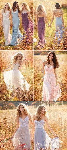30 Dreamy Bridesmaid Dresses For Your Romantic Wedding - Hayley Paige