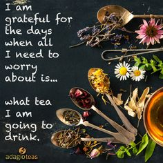 Great selection to choose a perfect cup of tea,