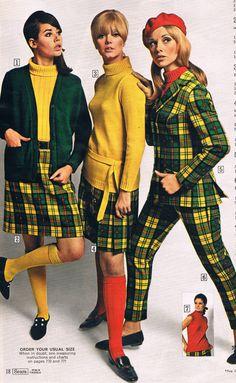 Sears catalog 60s. Colleen Corby, Paula Felton and Cay Sanderson.