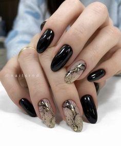 Cute Nail Colors, Cute Nails, Nails News, Gold Acrylic Nails, Manicure, Minimalist Nails, Pedi, Beauty Nails, Girly Things