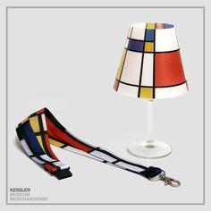 MONDRIAN LAMPSHADE Mondrian, Wine Glass, Prints, Art, Wine Goblets, Art Background, Kunst, Printmaking, Art Education