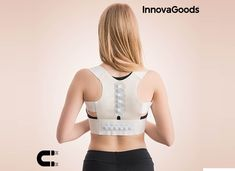 Alleviate back problems and improve your posture with the help of the new Wellness Care Armor magnetic posture corrector! Bola Anti-stress, Unisex, Balle Anti Stress, Heat Bag, Postural, Circulation Sanguine, Posture Corrector, Wellness, Back Pain