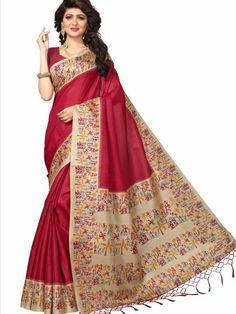 ee71462bb1 9 Best KHADI SILK SAREES images in 2018   Buy sarees online, Printed ...