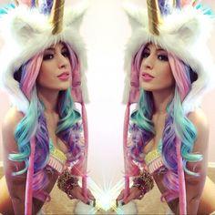 Devon Winston as a beautiful unicorn! #iheartraves
