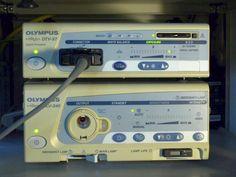 Kamera Prozessor Olympus OTV-S7,Kamerakopf Olymp.OTV-S7,Xenon Kaltlicht CLV-S40 White Balance, Olympus, Cold, Medical, Camera, Color Balance