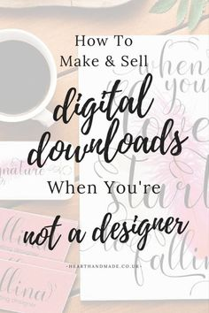 This is a comprehensive post, teaching you the best resources for all that you could possibly need when it comes to making and selling your own printables Make Money From Home, Make And Sell, Make Money Online, How To Make Money, Etsy Business, Craft Business, Online Business, Business Planning, Business Tips
