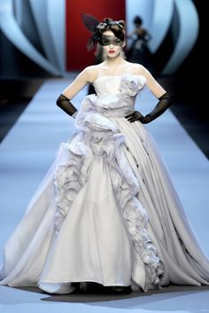 spring haute couture 2011 by Christian Dior