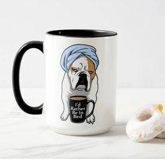 Grumpy English Bulldog coffee mug from Etsy shop https://www.etsy.com/listing/192460501/bulldog-coffee-mug-i-love-english