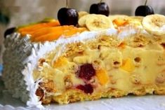 Невероятный торт тропиканка
