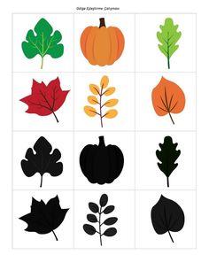 Bu sayfamızda sonbahar konulu çalışma sayfaları bulunmaktadır.  Sonbahar konulu yazıya hazırlık çalışmaları Sonbahar konulu çizgi çalışmaları Sonbahar konulu örüntü çalışması Sonbahar konulu sayı çarkı Sonbahar konulu gruplandırma çalışması Sonbahar konulu boyut çalışması Sonbahar konulu gölge eşleştirme çalışması Sonbahar konulu sayı puzzle çalışması  gibi etkinlikler yer almaktadır.İyi çalışmalar...
