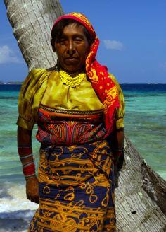 Indigenous Kuna women ,Panama