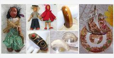 #Vintage Wooden #Rustic #FolkArt #Gifts - #Designer #Jewelry #Glass #China