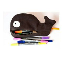 How To Make a Cute Whale Zipper Pouch - DIY Style Tutorial - Guidecentral. Guidecentral is a fun and visual way to discover DIY ideas, learn new skills, meet amazing people who share your passions and even upload your own DIY guides. Sewing Projects For Beginners, Sewing Tutorials, Sewing Hacks, Sewing Crafts, Sewing For Kids, Diy For Kids, Free Sewing, Pencil Case Tutorial, Pouch Tutorial