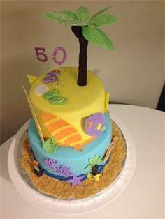 Tropical Surf Cake