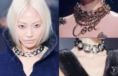 Fall 2013 Trend Choker Necklace - Fashionising
