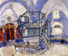 Chagall in Tzfat