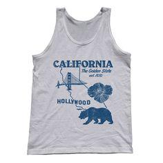 Unisex California Tank Top
