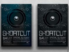 Shortcut Flyer Template by Lionel Laboureur