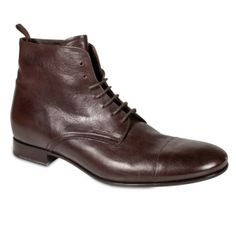 Prada Nappa Lace Up Boots Mens Brown Leather - Was $895 SAVE $185 BUY Now – ONLY $710
