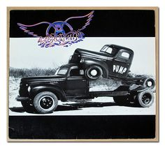"AEROSMITH PUMP 12"" LP VINYL"