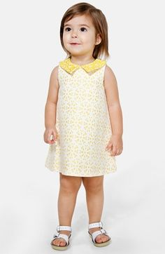 Pippa & Julie Sleeveless Jacquard Dress & Bloomers (Baby Girls) available at #Nordstrom