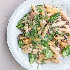 Creamy Mushroom and Herb Pasta